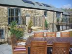 Well Cottage - 5 Star Gold Luxury Holiday Cottage BBQ terrace