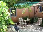 WEST PATIO - GREAT FOR YOUR MORNING COFFEE