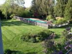 part of backyard