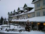 The Inn with Winter's Blanket