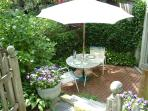 Your private patio.