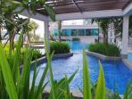Amazing huge swimming pool