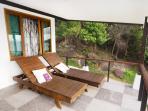 Balcony sun chairs