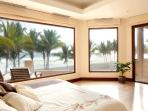 Master bedroom with terrace and private bathroom