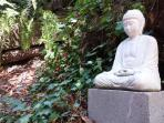 Japanese Budda by the North deck