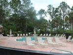 Resort pool area.