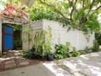 Garden Suite entry gate