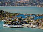 The wonderful town of Tiburon so much to offer, ferry 5 minute walk to town