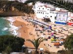 Carvoeiro Beach, a 5 min drive or 20 min walk