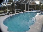 Year Round Pool - Screen enclosed