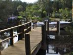 Our Boat Dock on Manatee Cove