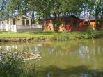 Lakeside Holiday Lodge With Hot Tub Near York City