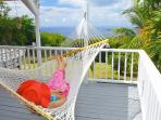 Enjoy ocean views, tropical breezes, and stargazing from the hammock