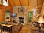 Boulder Bear Lodge #355- Living Room & Flat Screen TV