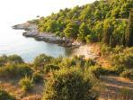 Velika Doca  bay close to house
