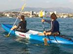 kayak include in price