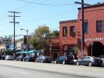 'Sunset Junction'  shops, restaurants, cafes and bars --  Minutes walking distance away