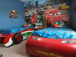 Cars Themed twin guest room