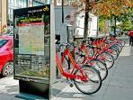 Capitol Bike Share a block away!
