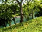 Waterfront Condo on the Comal River.