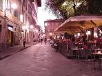 NIGHT LIFE IN SANTO SPIRITO SQUARE