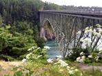 Deception Pass St. Park: 25 minutes to breath-taking!!