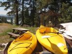 we provide 4 kayaks