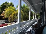 Side Porch Overlooks Street