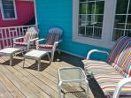Rear Balcony Deck