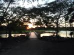 Sundown by one of the lakes in side Guavaberry pic 1