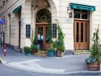 cafe around the corner