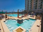 As an Ibis guest, you get access to the amenities of the nearby Caribbean Resort!