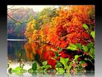 fall on Lake Santeetlah-