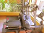 Need to stay in shape? Use the fitness gym for free