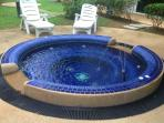 A nice Jacuzzi in the area