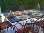 Terasse and garden furniture