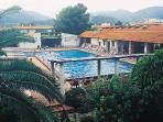 swimming pool of resort