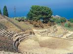 greck teatre of Tindaris