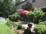 Deck, patio and garden