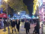 Champs Elysees  xMas 2013 (~12min walk from the apartment)
