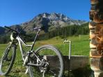 The Biker´s Paradies Nr 1. (Lower Engadine) is in front of your door. We offer also guided tours.