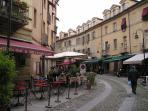 Antiques' District - Pedestrian area