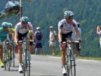 The Tour De France on col D'Aspin