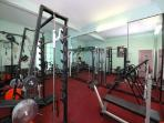 gym free of charge