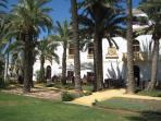 Resort centre has  - restaurants, bars, Spar supermarket, pro shop, pizzaria, etc