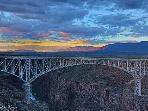 Royal Gorge Bridge over the Rio Grand just a few miles away