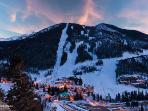 Taos Ski Valley is just 20 minutes away