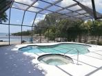 After a day in Florida's sun, refresh yourself in our unheated pool and soaking tub!