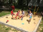 Playground #2:  Sand box with diggers!