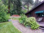 Guest house garden path